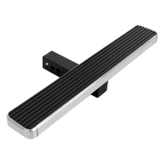 iStep Style 26 Inch Rear Hitch Step Hairline Finish for 2 Inch Receivers
