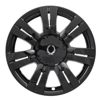 "Wheel Cover Impostor; 2010 - 2016 Cadillac, SRX, 18"", Gloss Black"