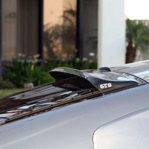 GT StylingRear Window Deflector; Solarwing II (R); Smoke; Plastic; 2003-2008 Nissan 350Z