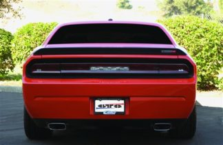 GT Styling Tail Light Center Panel Cover; Blackouts; Solid;; 2008-2014 Dodge Challenger