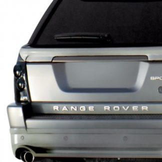 GT Styling Tail Light Cover; Blackouts; Solid; Smoke; Plastic; Set Of 2; 2006-2009 Land Rover Range Rover