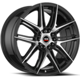 Spec-1 Wheel SP-56 Machined Black