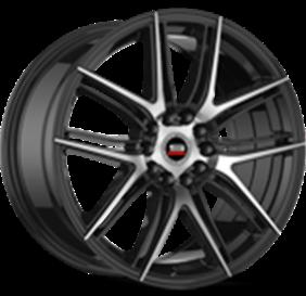 Spec-1 Wheel SP-56 Machined Black