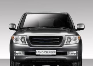 2008-2015 Toyota Land Cruiser Duraflex J-Sport Front Grille - 1 Piece (S)