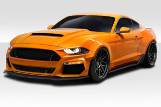 2018-2020 Ford Mustang Duraflex Grid Wide Body Kit - 15 piece