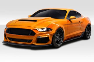 2018-2020 Ford Mustang Couture Urethane Grid Fender Flares - 8 piece