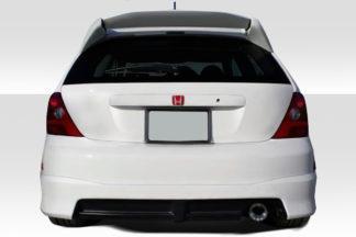 2002-2005 Honda Civic Si HB Duraflex HFP Look Rear Lip Spoiler - 1 Piece