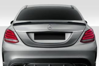 2015-2020 Mercedes C Class W205 Duraflex VRT Rear Wing Spoiler - 1 Piece