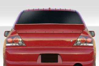 2002-2007 Mitsubishi Lancer 2003-2006 Lancer Evolution 8 9 Duraflex Duckbill Rear Wing Spoiler - 1 Piece