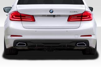 2017-2020 BMW 5 Series G30 Duraflex M Performance Look Rear Diffuser - 1 Piece