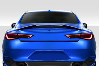 2017-2020 Infiniti Q60 Duraflex M Look Rear Wing Spoiler - 1 Piece