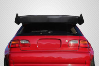 1992-1995 Honda Civic HB Carbon Creations RBS Wing Spoiler - 3 piece