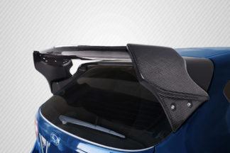 2008-2011 Subaru Impreza 5DR 2008-2014 Subaru WRX STI 5DR Carbon Creations VR-S Wing Trunk Lid Spoiler - 4 Piece