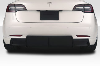 2018-2020 Tesla Model 3 Duraflex GT Concept Rear Diffuser - 1 Piece