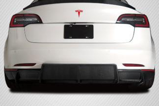 2018-2020 Tesla Model 3 Carbon Creations GT Concept Rear Diffuser - 1 Piece