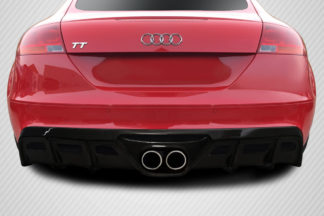 2008-2015 Audi TT 8J Carbon Creations TKR Rear Diffuser - 1 Piece ( S-line models only )