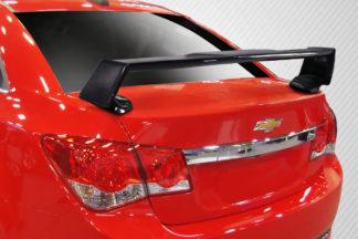 2011-2015 Chevrolet Cruze Carbon Creations QTM Wing Spoiler - 3 Piece
