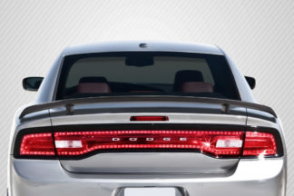 2011-2014 Dodge Charger Carbon Creations SRT Look Rear Wing Trunk Lid Spoiler - 1 Piece