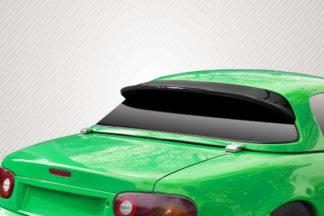 1990-1997 Mazda Miata Carbon Creations Demon Hard Top Wing Spoiler - 1 Piece