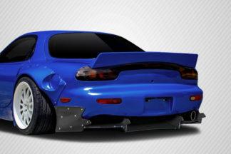 1993-1997 Mazda RX-7 Carbon Creations TKO Boss Wide Body Rear Diffuser - 9 Piece