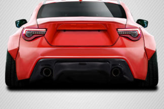 2013-2020 Scion FR-S Toyota 86 Subaru BRZ Carbon Creations GT500 V3 Rear Diffuser - 1 Piece