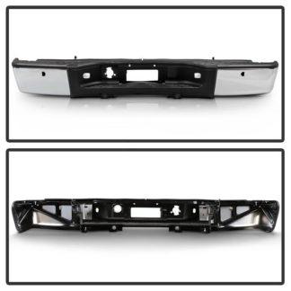 OEM Style Rear Bumper | Chevy Silverado 1500 2500 07-13 | GMC Sierra 07-16