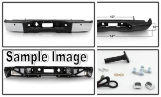OEM Style Steel Rear Bumper Chevy Silverado 1500 07-13 | GMC Sierra 1500 07-13
