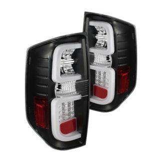 Toyota Tundra 2014-2019 Light Bar LED Tail Lights - Reverse-7440(Not Included) - Black