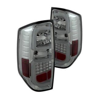 Toyota Tundra 2014-2019 Light Bar LED Tail Lights - Reverse-7440(Not Included) - Smoke