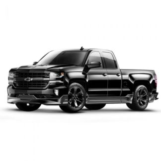 Air Design Silverado Street Series 2016-2018 Ground Effects Kit Double Cab Std. Box (Rounded Tips)