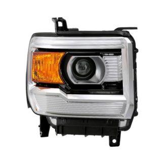 GMC Sierra projector LED headlights