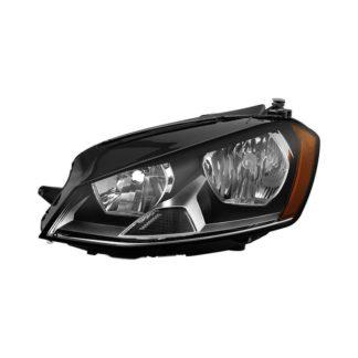 Volkswagen Golf 7 projector LED headlights