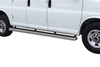 iStep 6 Inch Van Running Board; 2003-2020 Chevy Savana 2500   (1 Pair)