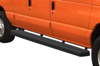 iStep 6 Inch Van Running Board; 1999-2014 Ford Econoline   (1 Pair)