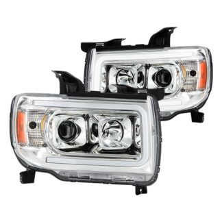 GMC Canyon projector LED headlights
