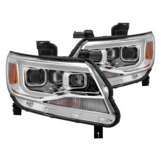 Chevy Colorado projector LED headlights