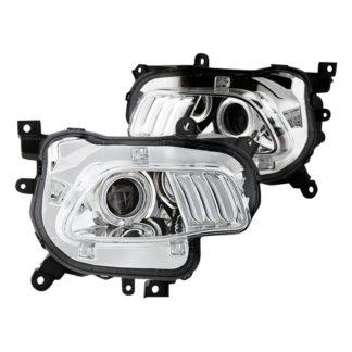 Jeep Cherokee projector LED headlights