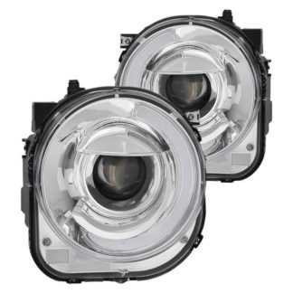 Jeep Renegade projector LED headlights