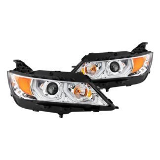 Chevy Impala 14-19 Projector Headlights - Low Beam-H9(Included) ; High Beam-H9(Included) ; Signal-7440NA(Included) - Chrome