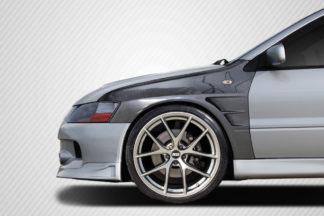 2003-2006 Mitsubishi Lancer Evolution 8 9 Carbon Creations C-Speed Fenders - 2 Piece