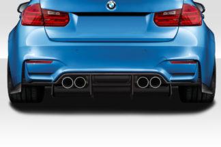 2014-2019 BMW M3 F80 2014-2020 M4 F82 F83 Duraflex Plasma Rear Diffuser - 4 Piece