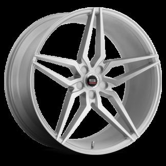 Spec-1 Racing Wheel   Monospec SPM-81   Silver Brushed