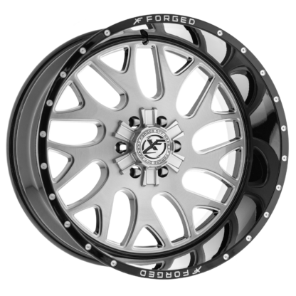 XF Forged Off-Road Wheel | Model XF-301 Brushed Gloss Black Lip