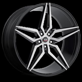 Spec-1 Racing Wheel   Monospec SPM-81   Gloss Black Brushed