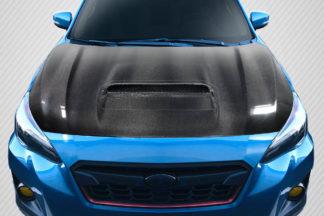 2018-2020 Subaru Crosstrek Carbon Creations STI Look Hood - 1 Piece