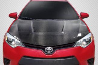 2014-2016 Toyota Corolla Carbon Creations Circuit Hood - 1 Piece