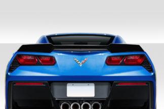 2014-2019 Chevrolet Corvette C7 Duraflex ZRF1 Look Rear Wing Spoiler - 1 Piece
