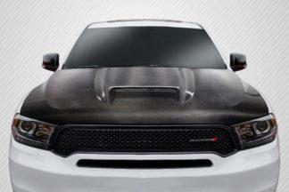 2011-2020 Dodge Durango Carbon Creations SRT Look Hood - 1 Piece