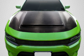 2015-2020 Dodge Charger Carbon Creations Demon Look Hood - 1 Piece