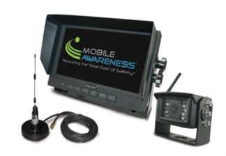 Mobile Awarness Backup Camera System | Vision Stat (R) Bumper Mount | 7 Inch LCD Color Monitor Incl.